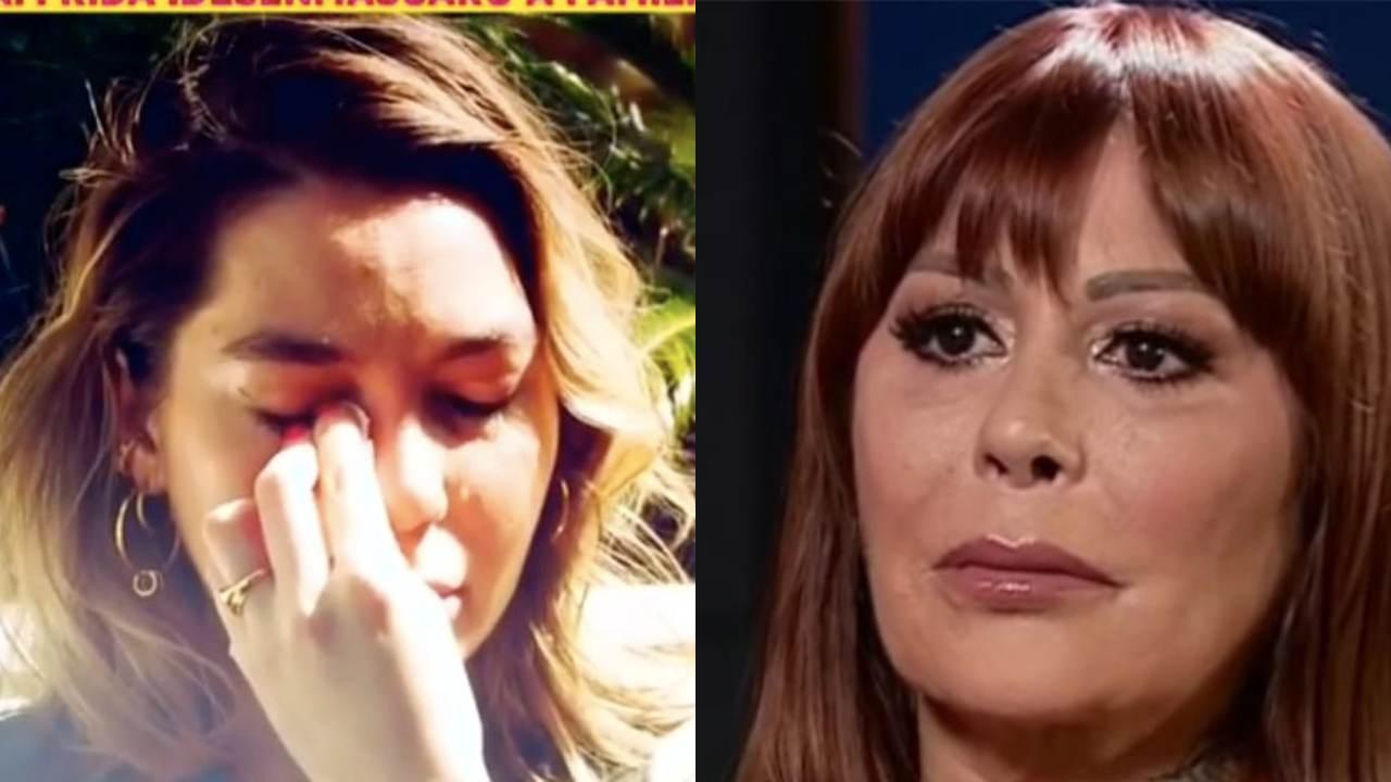 Frida Sofía habla de la ausencia de Alejandra Guzmán