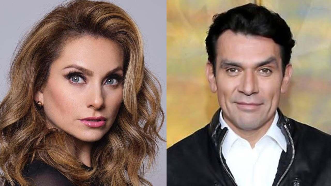 Mientras Andrea Noli lo confronta por su hija, Elizabeth Álvarez le hace fiesta a Jorge Salinas
