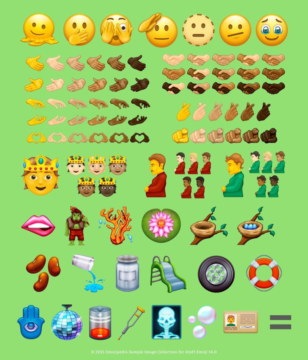 Emojis hombre embarazado persona no binaria