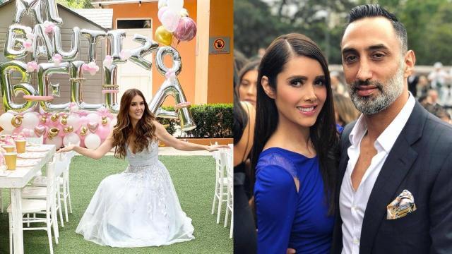 Marlene Favela y su ex George Seely