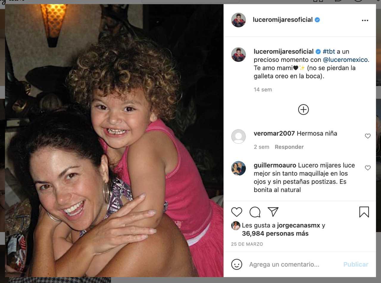 Las mejores fotos de Lucero Mijares en Instagram