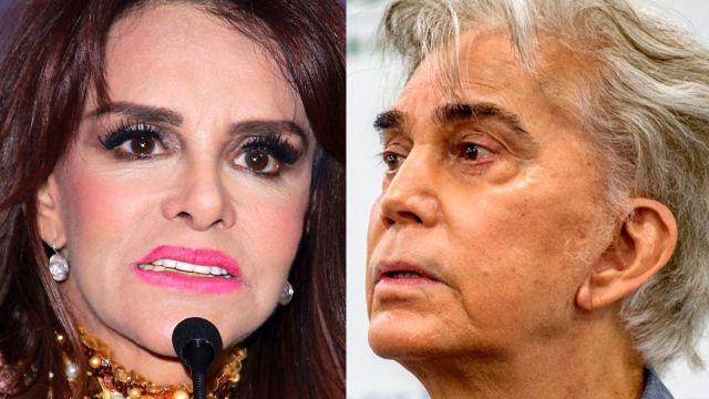 """Lucía Méndez tacha de mentiroso a """"El Puma"""" y asegura: """"Entiendo a sus hijas"""""""