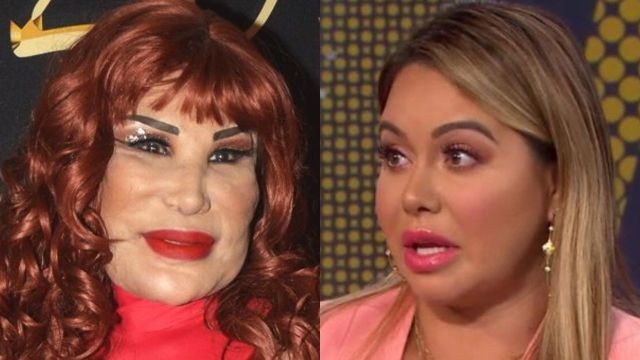 "Lyn May arremete contra Chiquis Rivera y la llama gorda: ""Que ya no trague"""