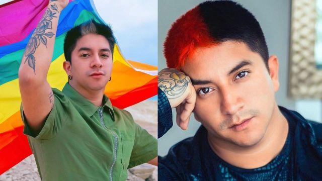 Mario Aguilar presume su transformación como Drag Queen y luce increíble