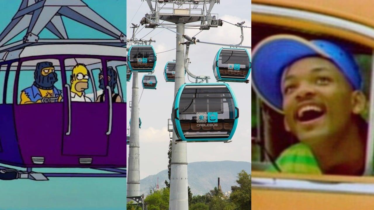 Memes inauguracion de cablebus de CDMX