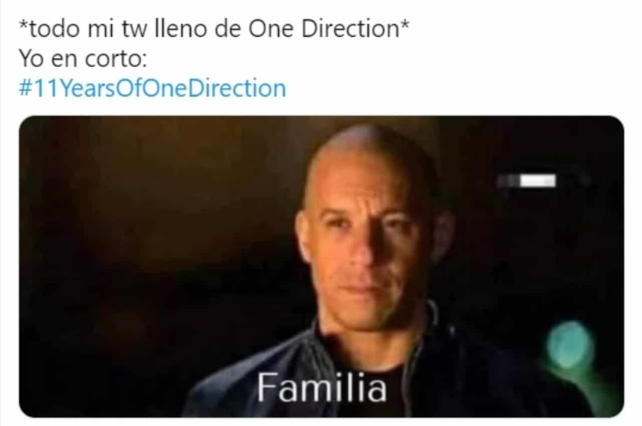 Meme one direction 11 anos banda