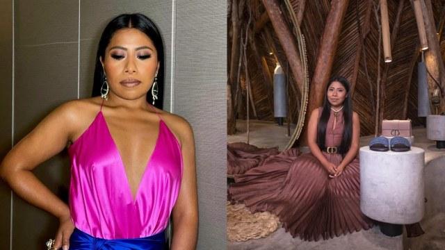 Yalitza Aparicio recibe lujoso bolso marca