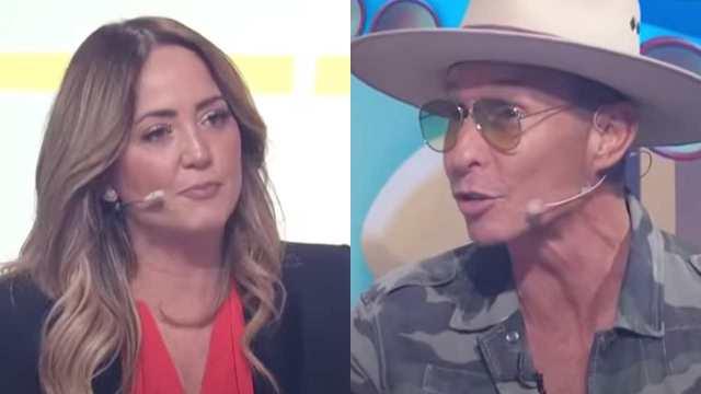 Andrea Legarreta regaña a Erik Rubín en vivo en 'Hoy'