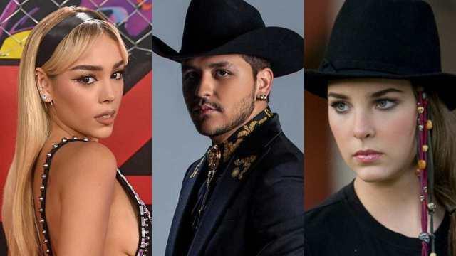 Christian Nodal: Danna Paola desafía prohibición de Belinda y quiere dueto con él