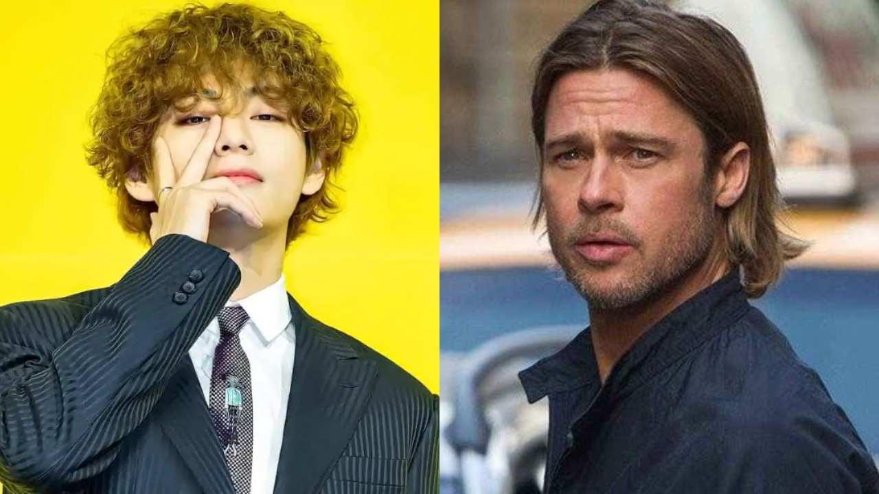 BTS V Brad Pitt