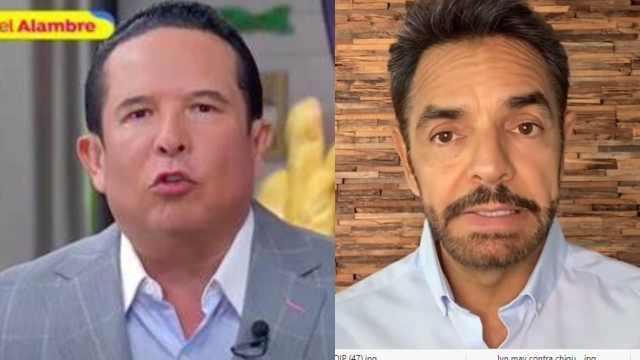 Gustavo Adolfo Infante disculpa Eugenio Derbez
