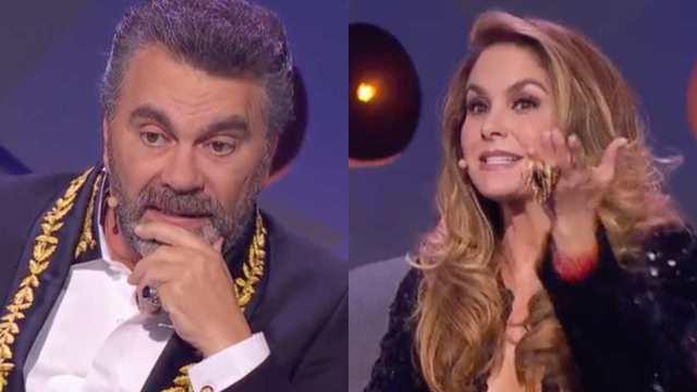 Lucero recuerda su divorcio con Mijares en pleno estreno de 'El retador'