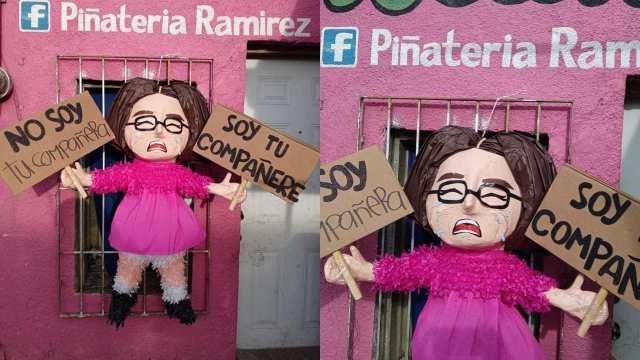 """Piñatería Ramírez se burla de Andra y su petición de """"compañere"""""""