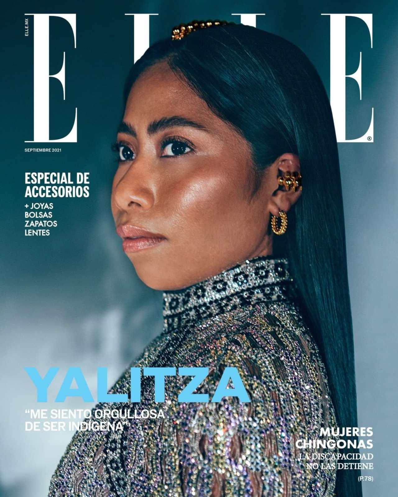 Yalitza Aparicio ELLE revista portada