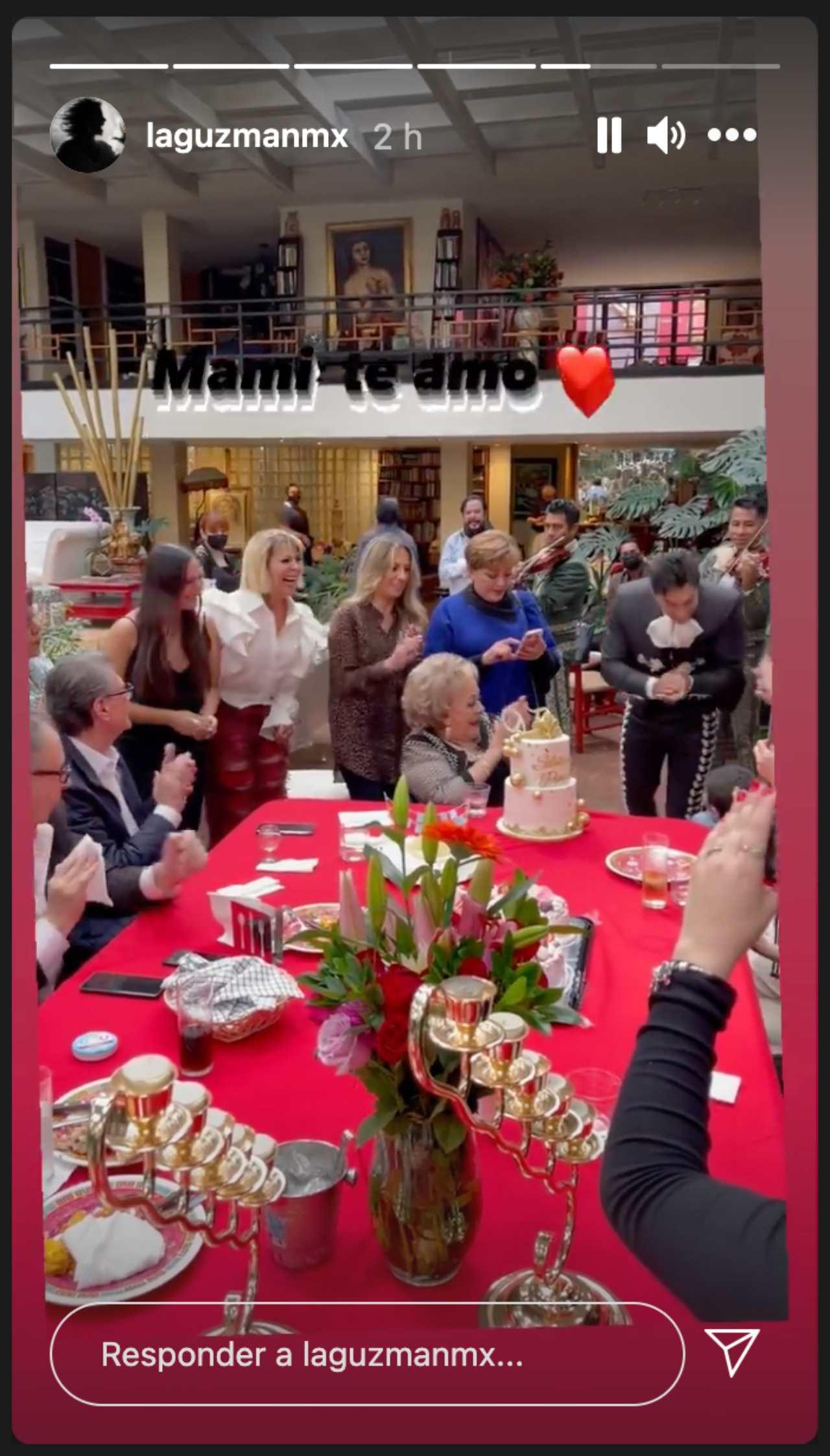 Así festejó Silvia Pinal sus 90 años