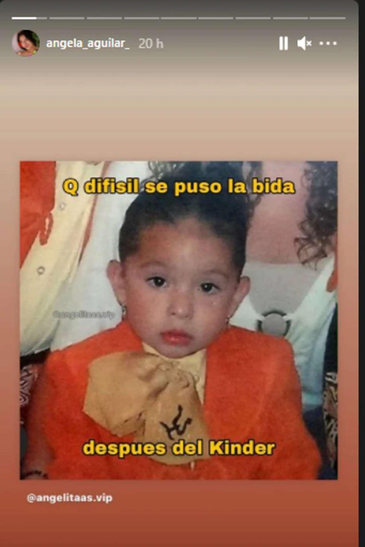 Ángela Aguilar meme fans