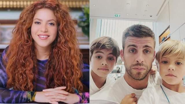 Shakira hijos TikTok