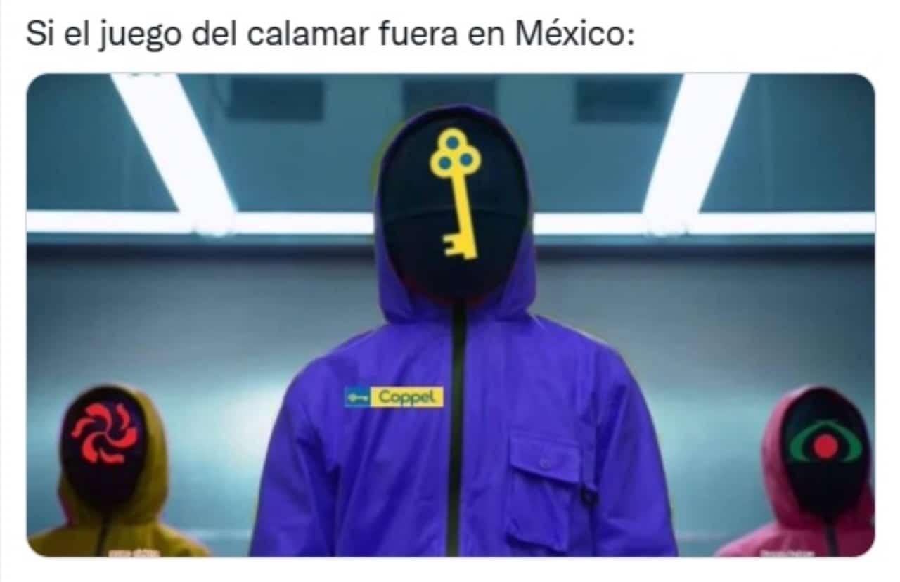 Mexico El juego del calamar netflix
