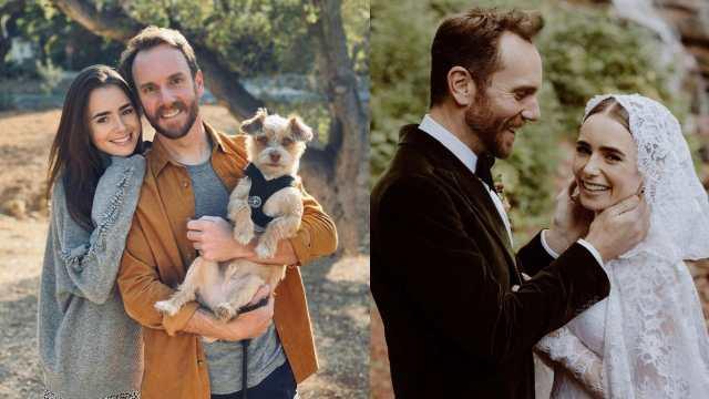 lilly collins boda ensueno Charlie McDowell
