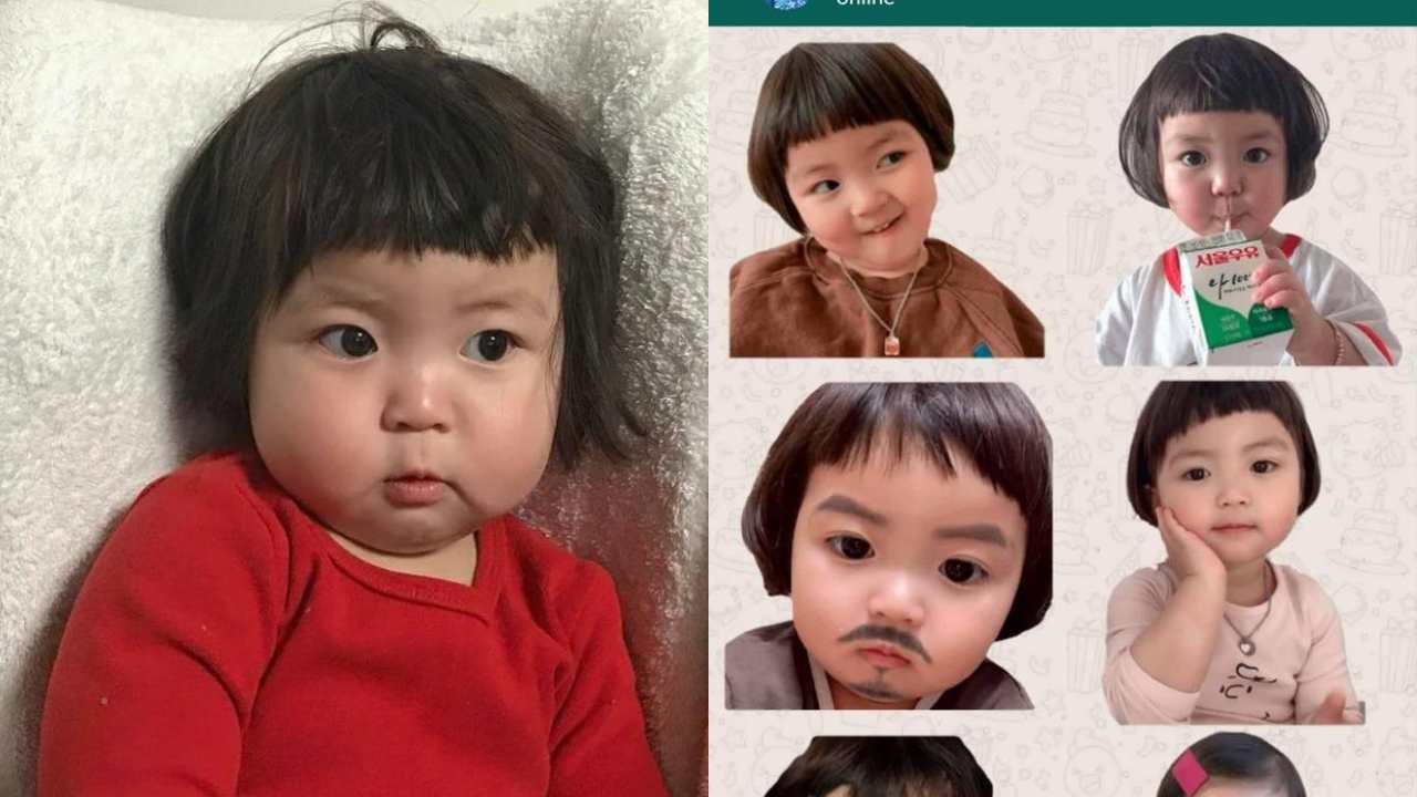 """Mamá de la """"niña coreana"""" de los stickers demandará a quien los use"""