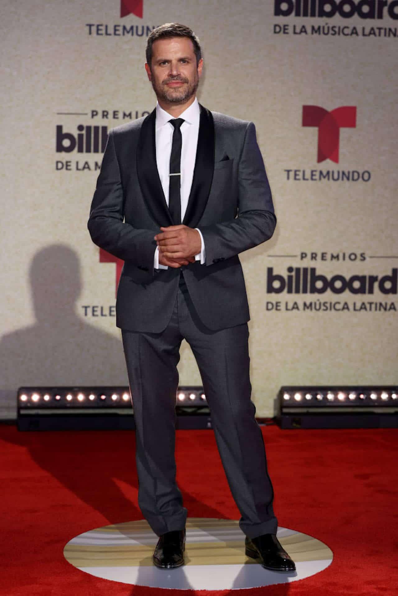 Mark Tacher Premios Billboard Latinos 2021