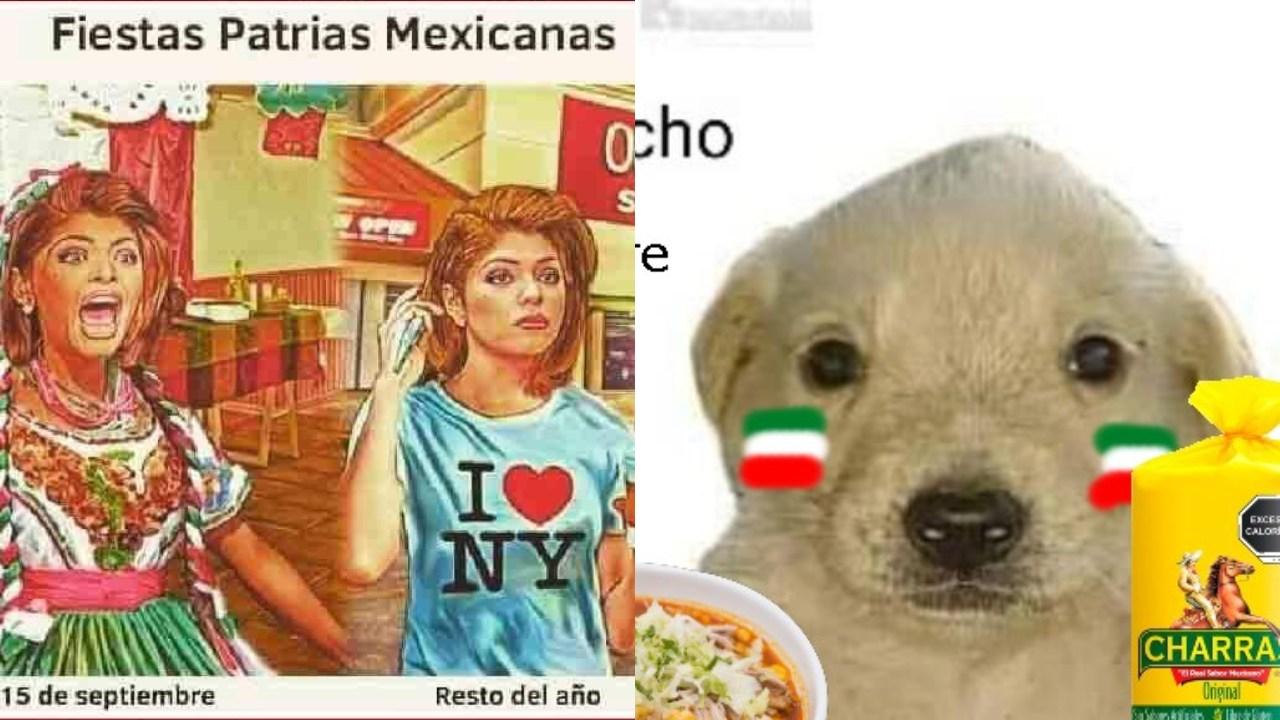 Memes dia de la independencia Mexico