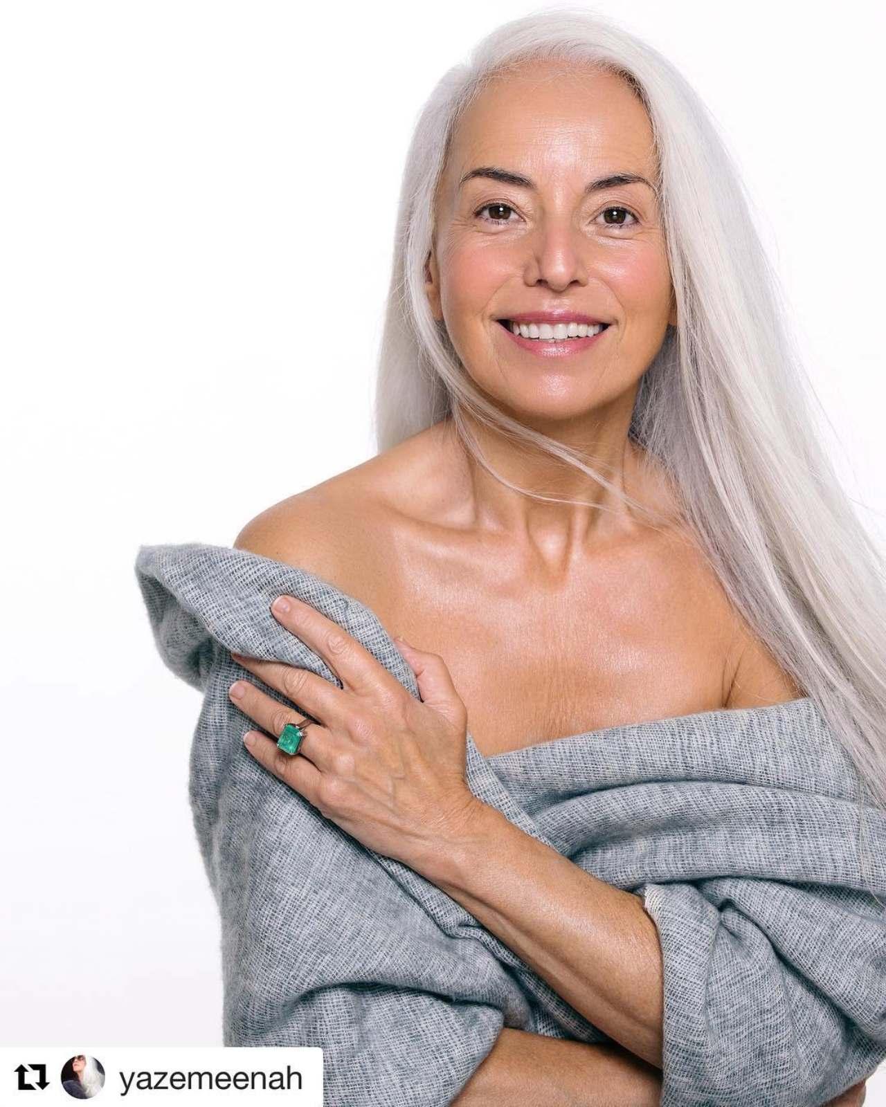 Yazemeenah Rossi abuela 60 anos joven