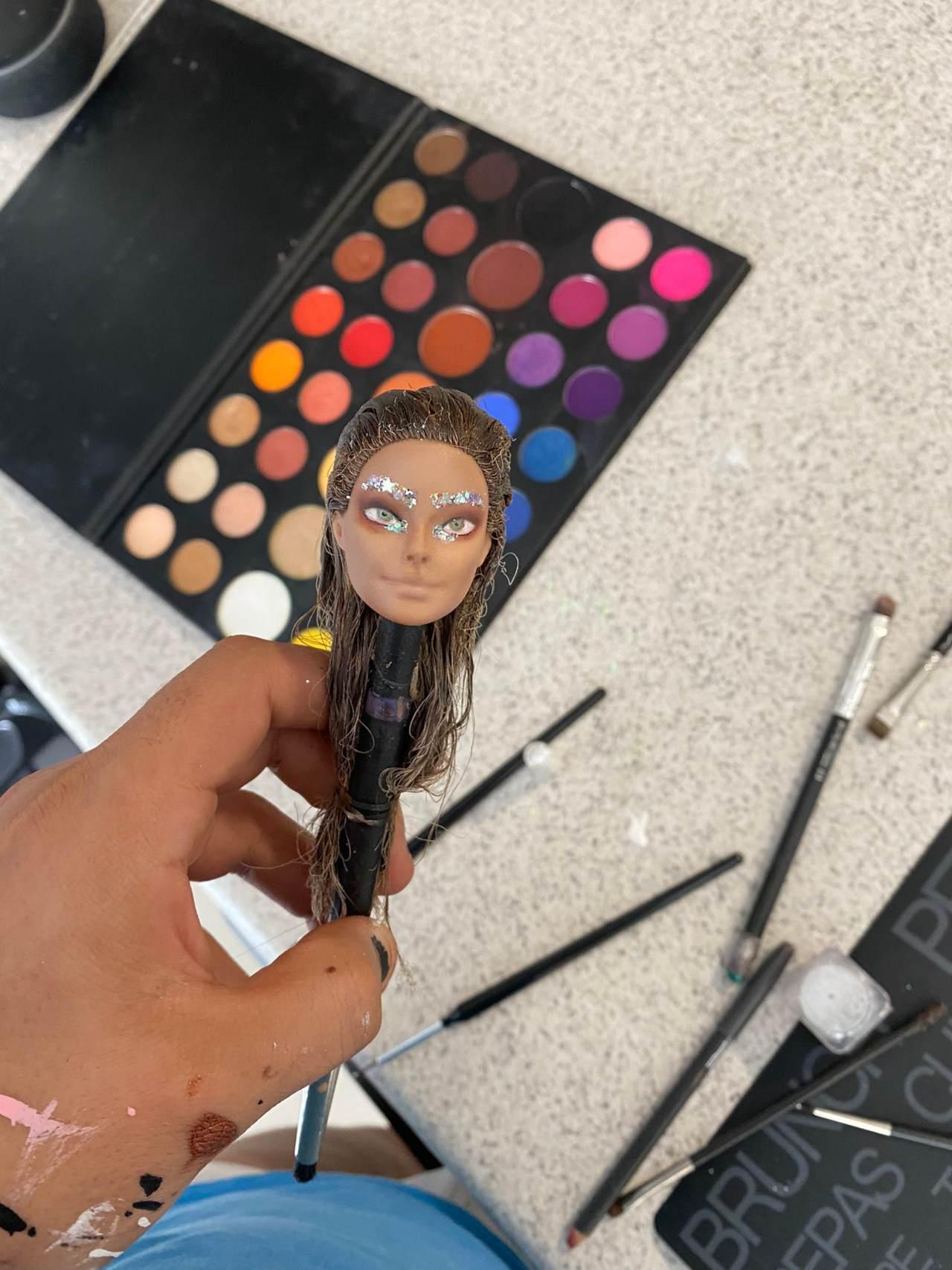Barbie transformacion en Belinda usuario Twitter