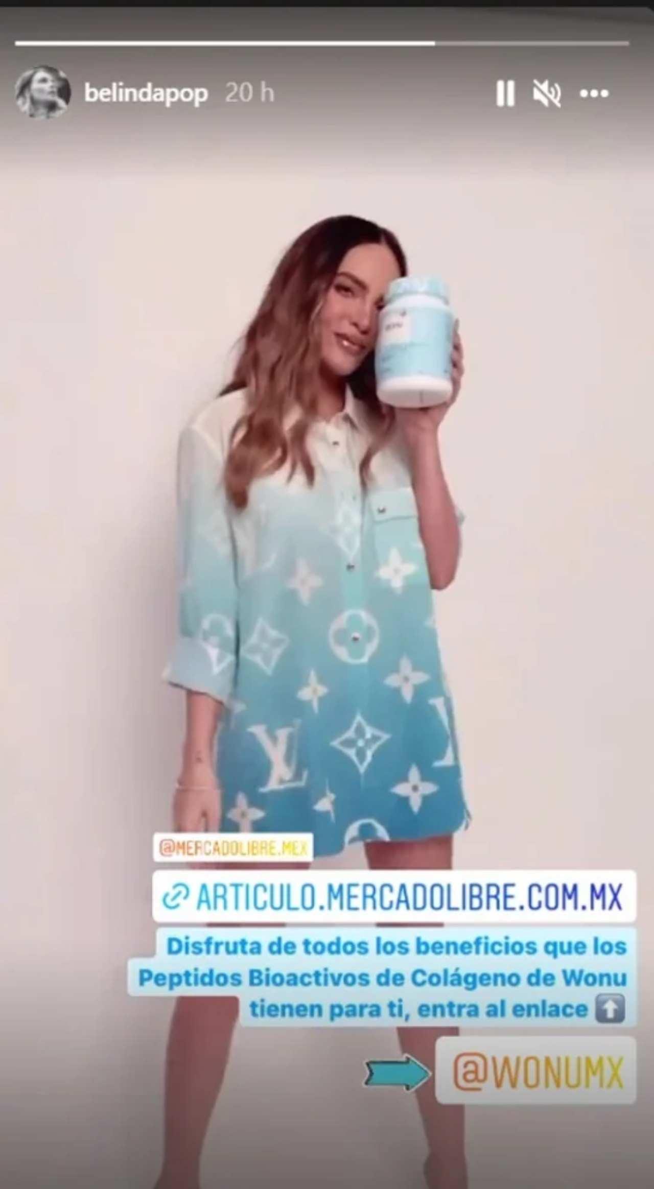 Belinda Louis Vuitton blusa cara 45