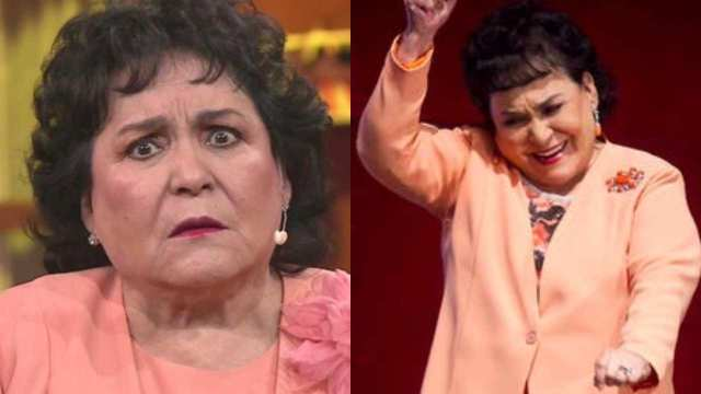 Carmen Salinas debuta titkok bailando bomba