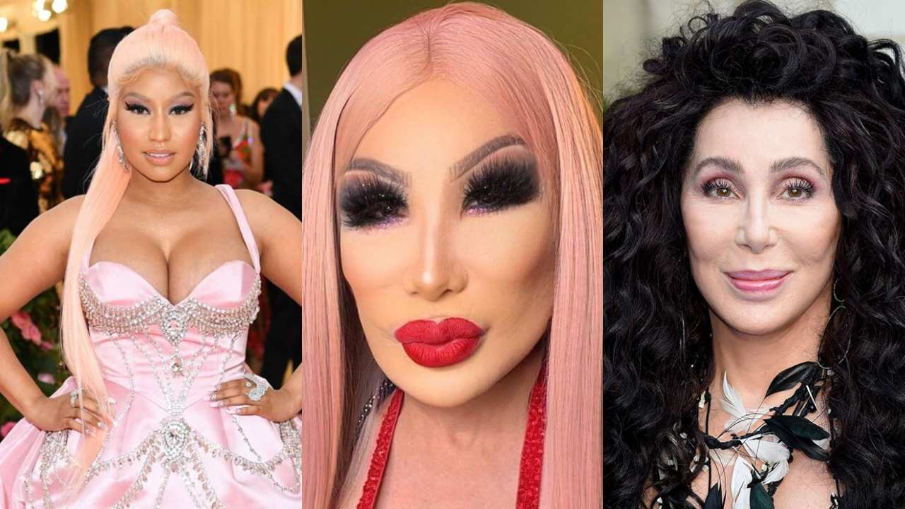 Lyn May Cher Nicki Minaj dueto