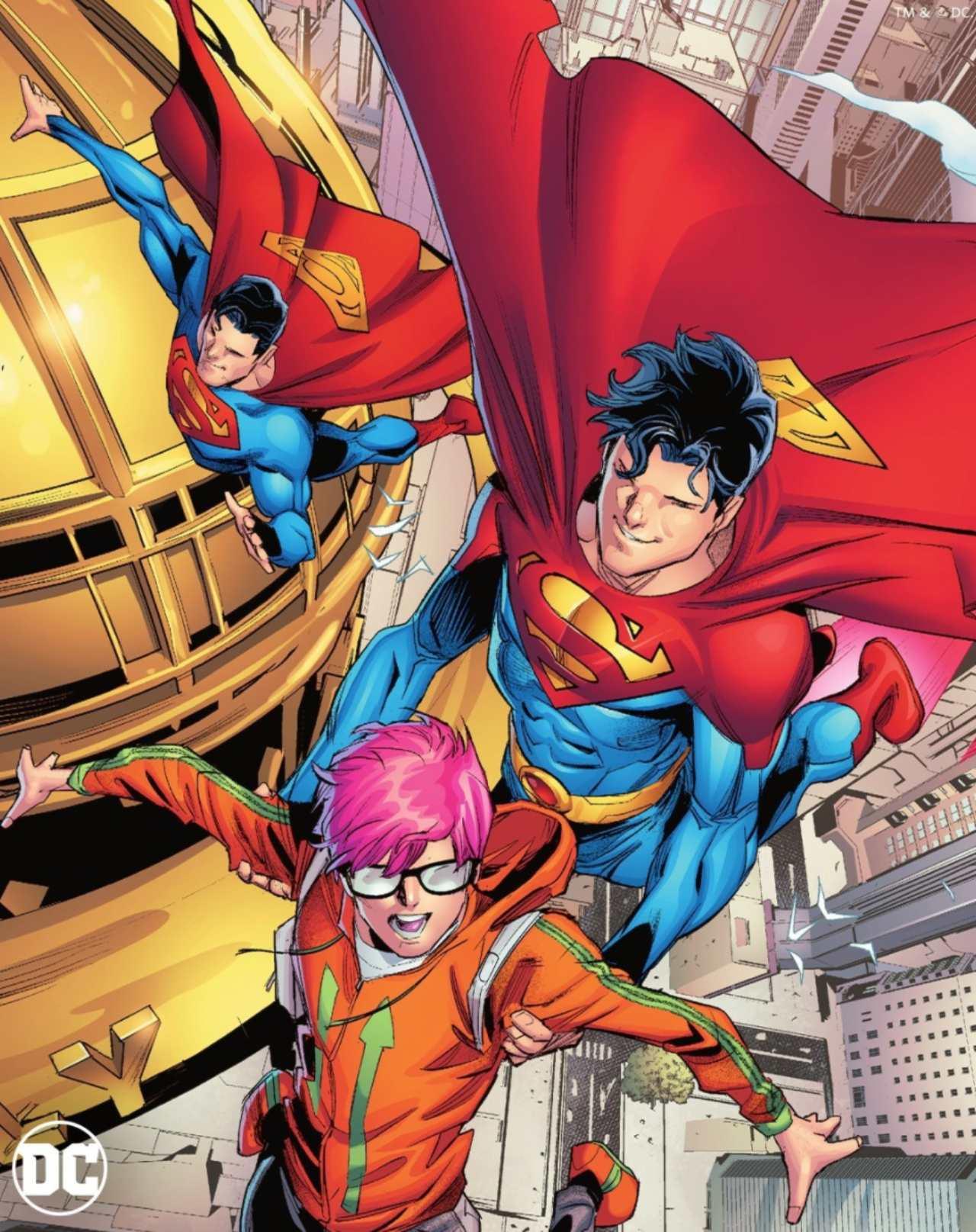 Superman sale del clóset y se declara bisexual