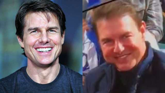 Tom Cruise reaparece genera polemica nuevo rostro