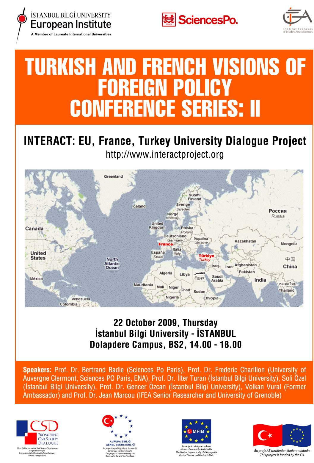 Turkish - French Visions of Foreign Policy