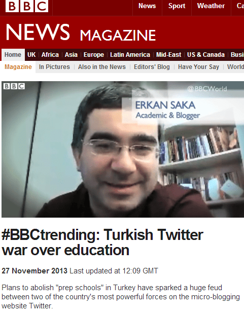 BBC News BBCtrending Turkish Twitter war over education