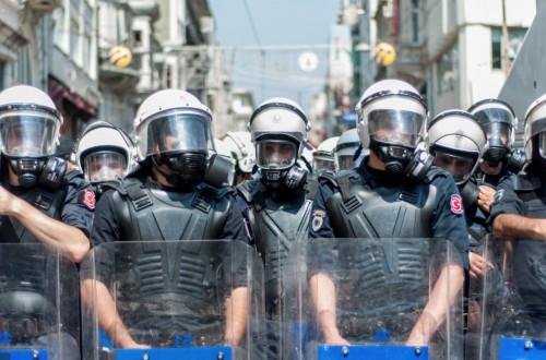 THY EYLEMİNDE POLİS