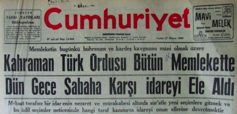 12-eylul-1980-darbesi-cumhuriyet-gazetesi