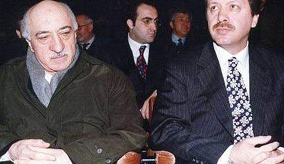 In the good old days. Fethullah Gülen (L), Recep Tayyip Erdoğan (R)