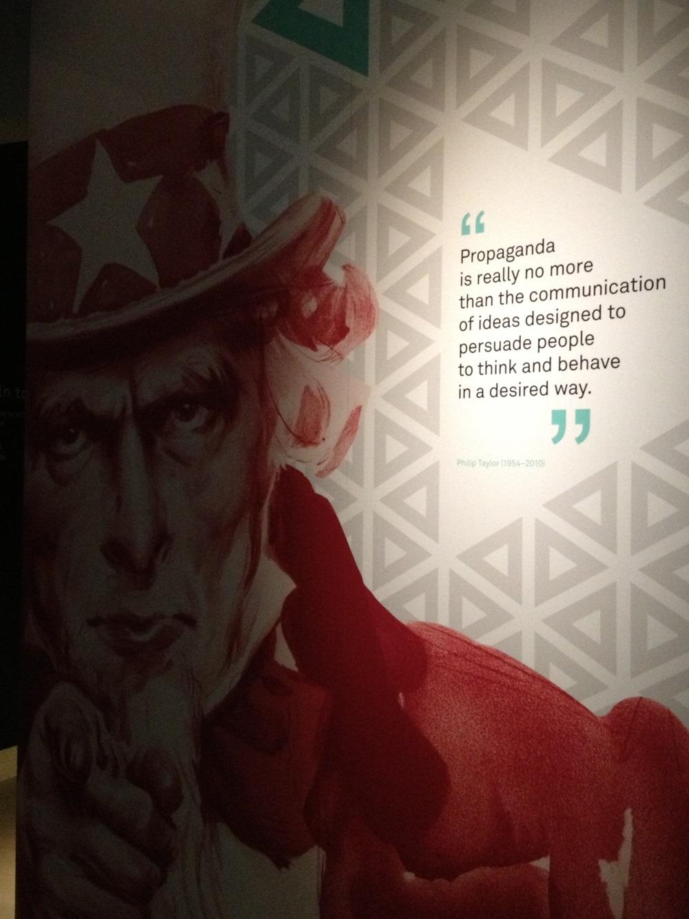 Philip Taylor'ın propaganda tanımı…