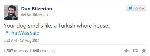 Poker Zengini Dan Bilzerian a Türkler e Bulaşmaması Gerektiğini Gösteren 29 Tweet   ListeList.com