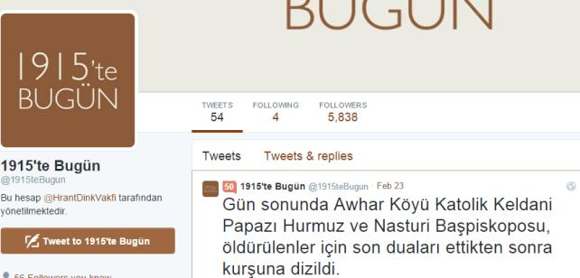 1915 te Bugün   1915teBugun    Twitter
