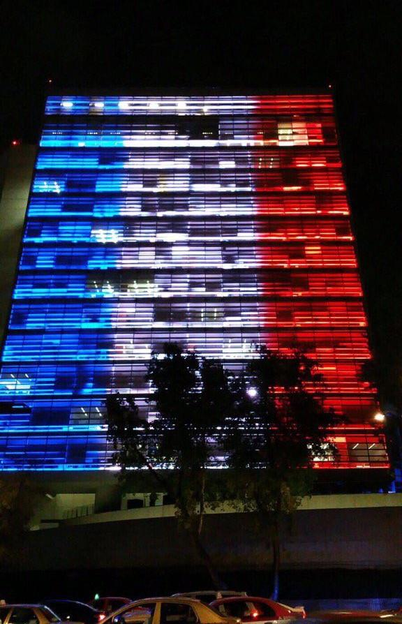 Mexico's Senate solidarity with France