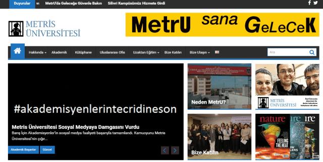 Metris Üniversitesi – MetrU Sana Gelecek