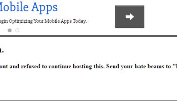 Website is down