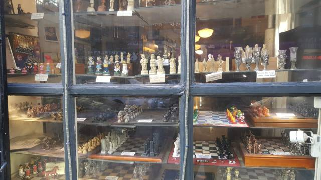 One day in New York, visiting the Chess Forum - Erkan's