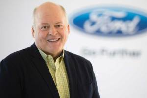 ford ceo james hackett