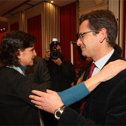 La que apoyó a López hace cuatro años (San Gil) y el que le apoyará este año (Basagoiti) si los socialistas y los populares suman 38 escaños