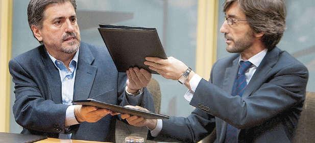 """Un """"doberman"""" y un """"inquisidor"""" repartiéndose el pastel institucional de Euskadi"""