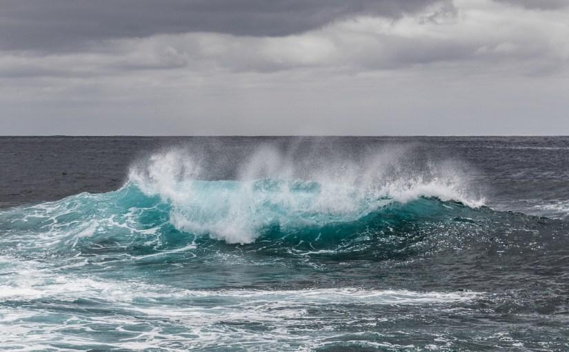 Meer und Welle
