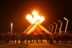 Vrijdag wordt het olympisch vuur weer ontstoken. Foto: Wikimedia Commons